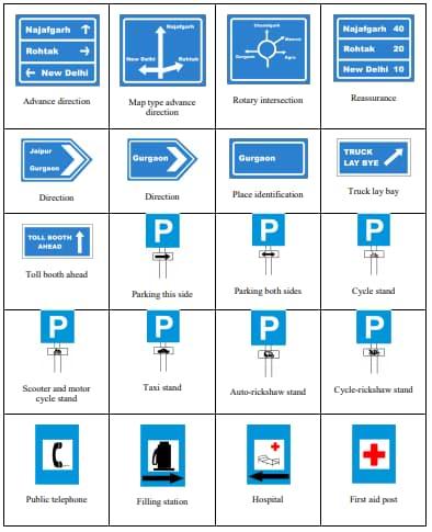 Informatory Road Traffic Rules